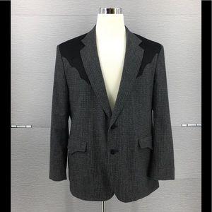 Circle S Men's Sport Coat Blazer Western Texas